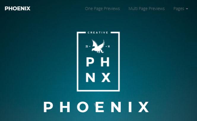 phoenix agency portfolio wordpress theme
