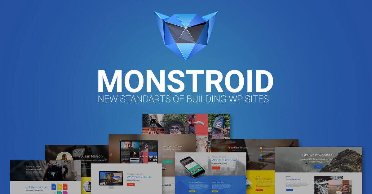 Monstroid WordPress Theme, The Epitome of Versatility