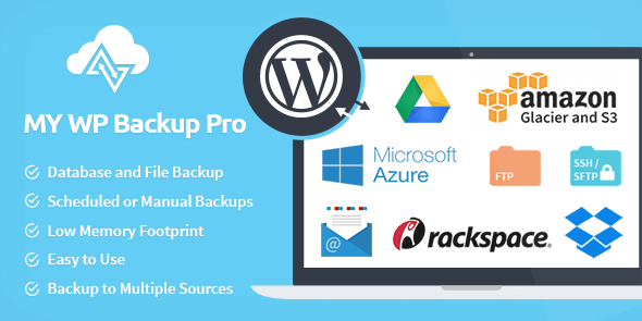 My WP Backup Pro Plugin