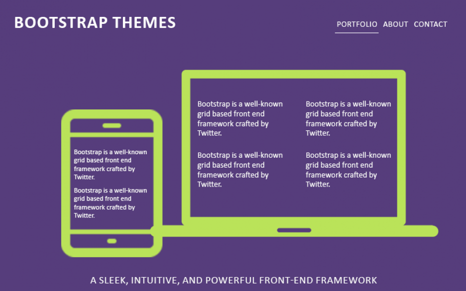 20+ Best Free Bootstrap Themes for WordPress 2015