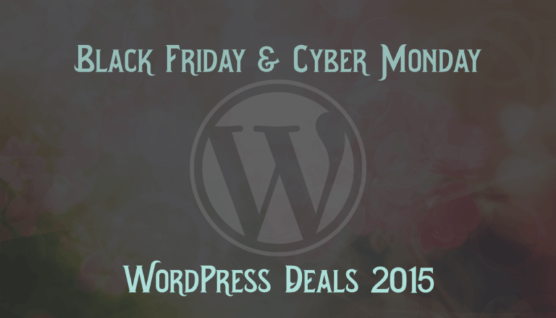 70+ Black Friday & Cyber Monday WordPress Deals 2015