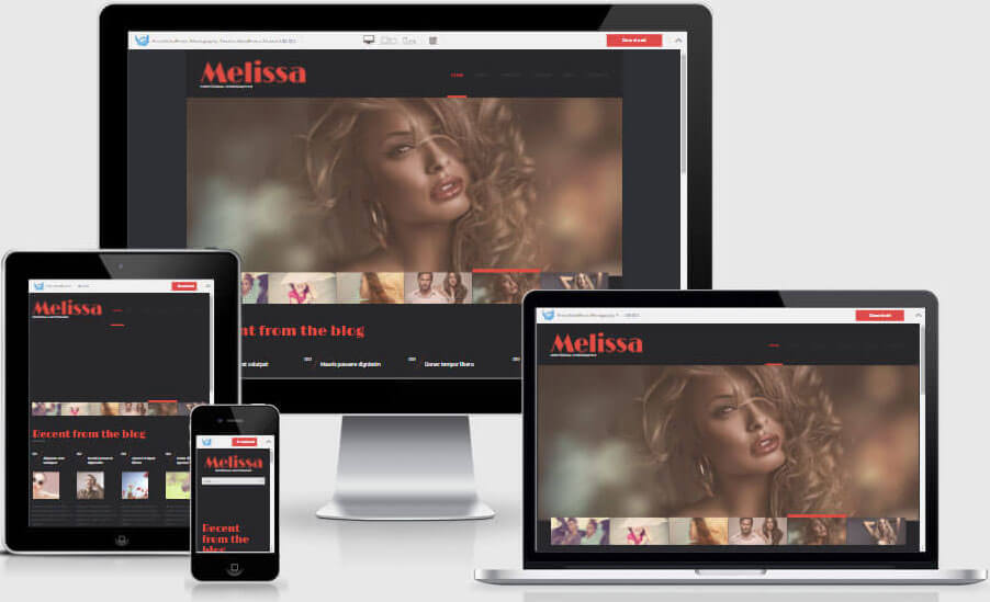 Melissa - WordPress Photography Theme