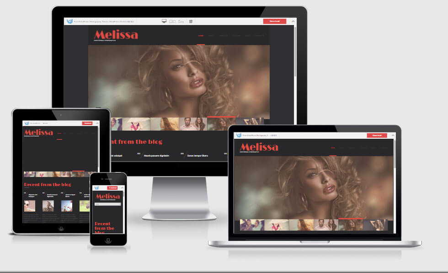 Melissa - WordPress Photography Theme