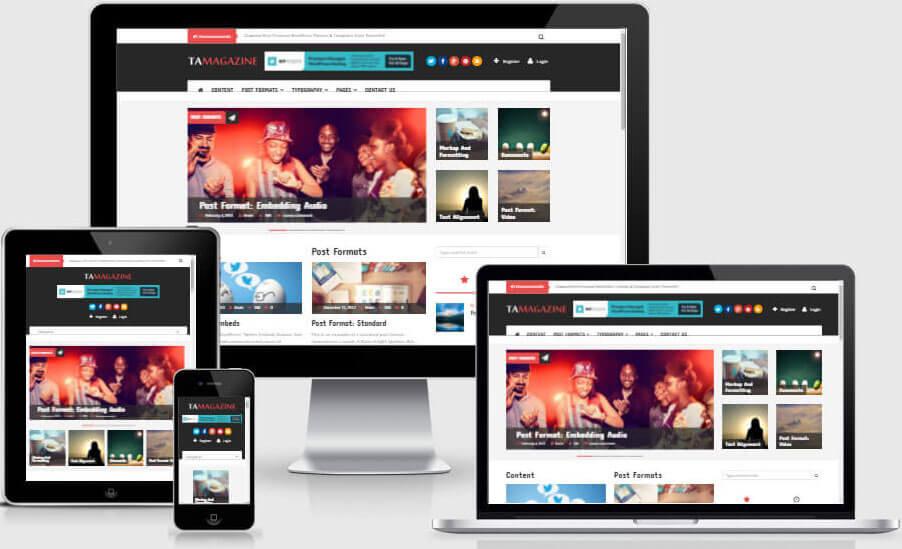 TA Magazine – WordPress Magazine and News Theme