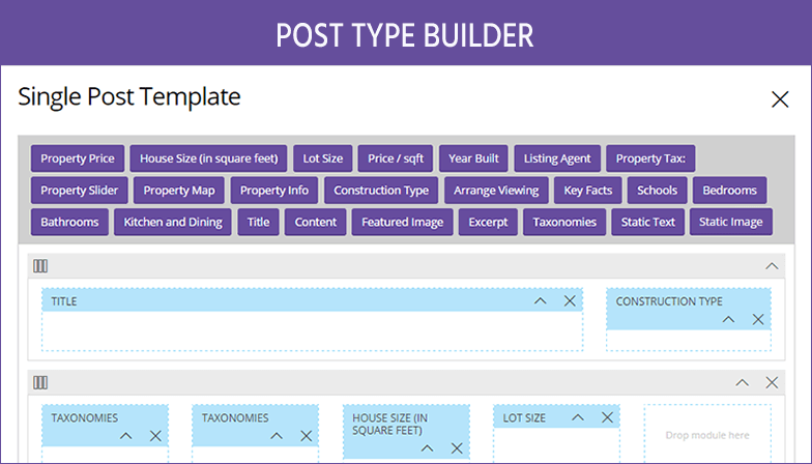 Post Type Builder Review: Creating a Property Listing Website