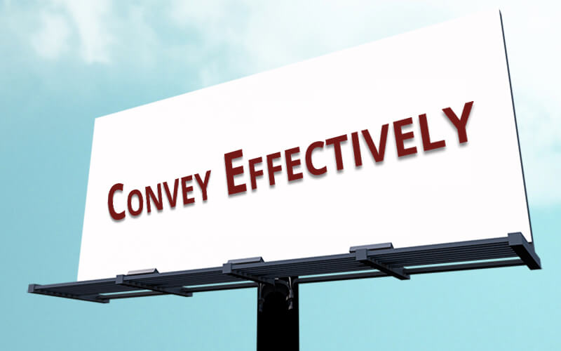 convey-effectively