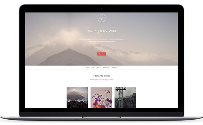 Gateway Plus - An advanced and elegant WordPress theme