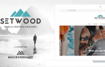 Setwood - Blogging WordPress theme with Shop / eCommerce