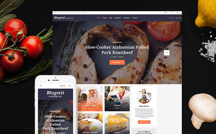 Blogetti GPL WordPress Theme
