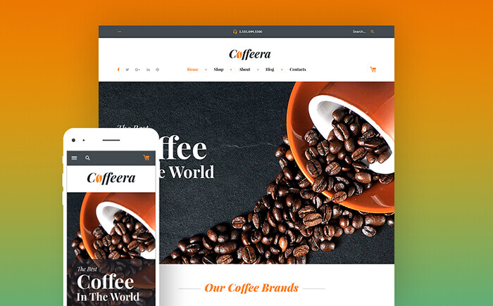 Coffee House WooCommerce Theme