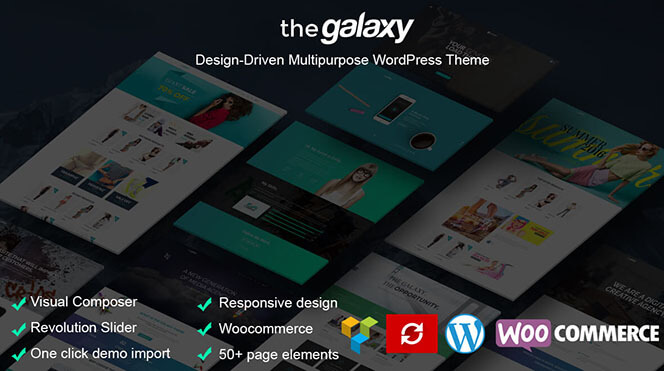 le galaxy theme wordpress multipurpose