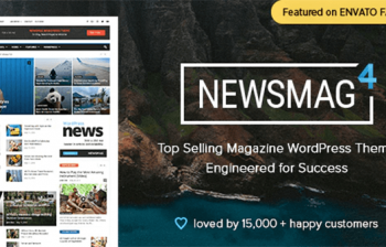 newsmag news magazine wordpress theme