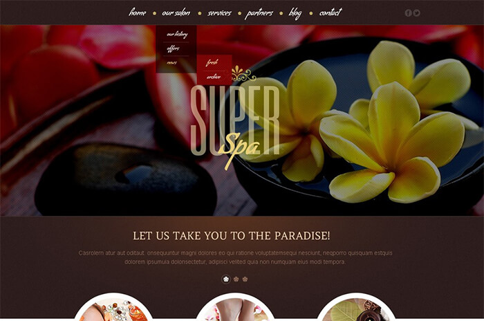 Beauty Salon WordPress Theme