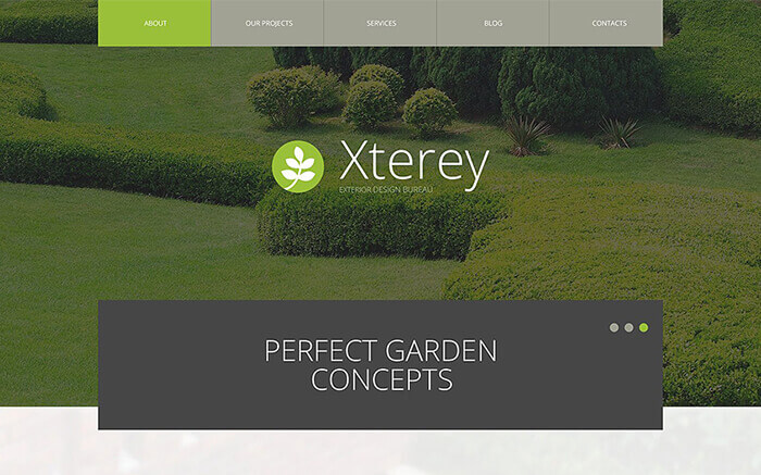 Exterior Design WP Theme