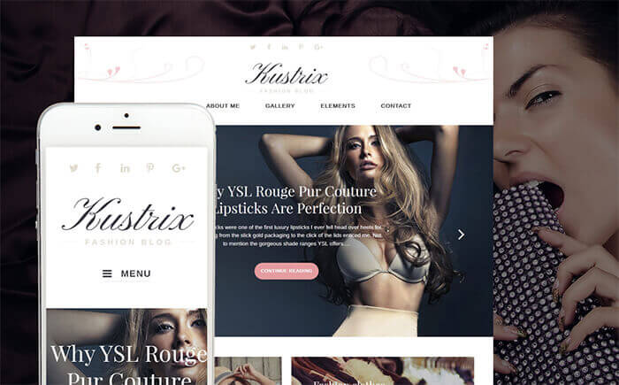 Style Blog WordPress Theme