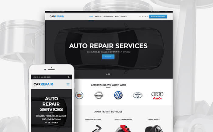 Car Repair WP Theme