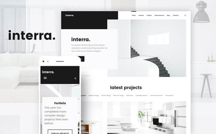 Interra - the Best Interior Design WordPress Theme