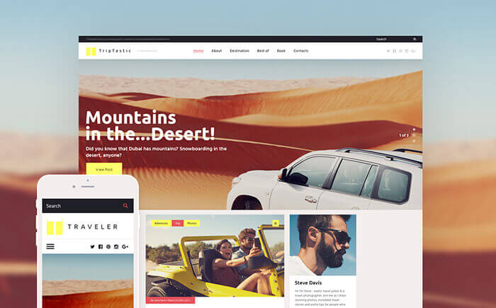 Travel WP Theme