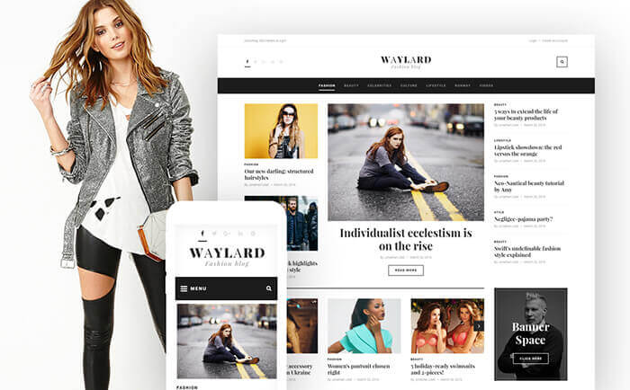 Fashion Blog WP Theme