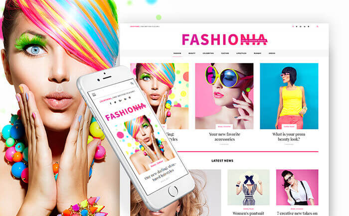Womens Fashion Blog WordPress Theme