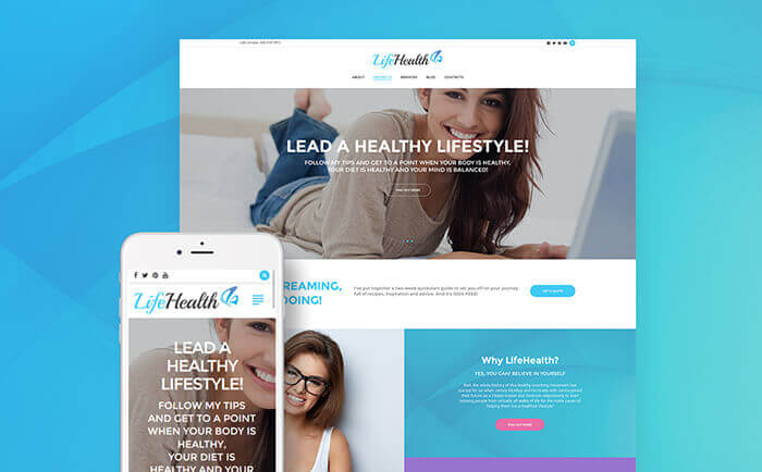 Life Coach WP Theme