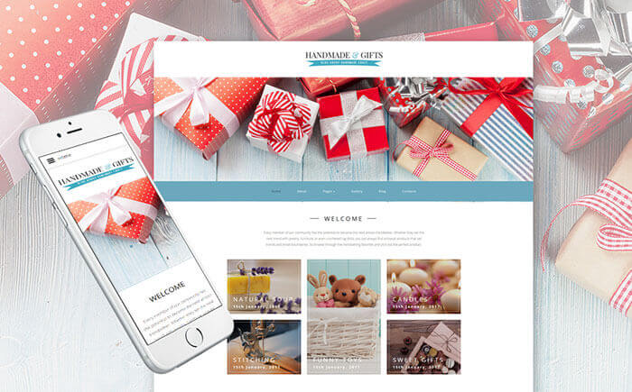 Gifts Joomla Template