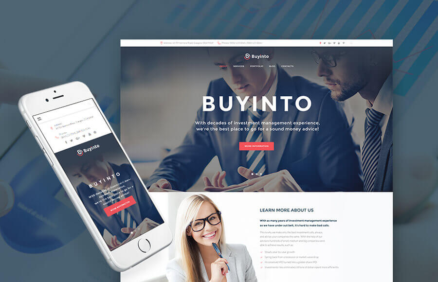 Business Capital Management WordPress Theme