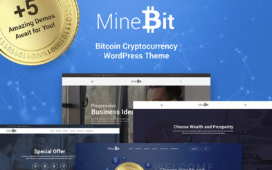 Best WordPress Templates for a Cryptocurency Blog That Inspire