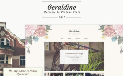10 Absolutely Wonderful Feminine Blog WordPress Themes