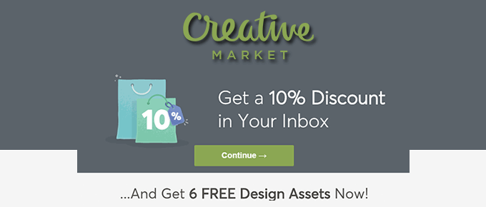 creativemarket coupon