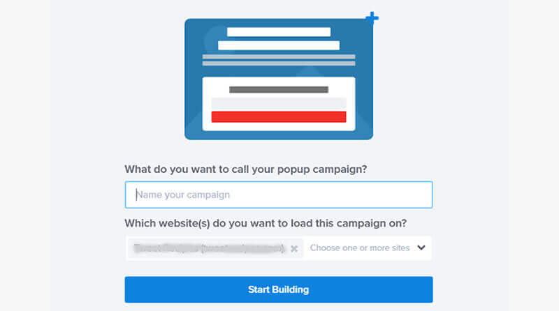 start building campaign