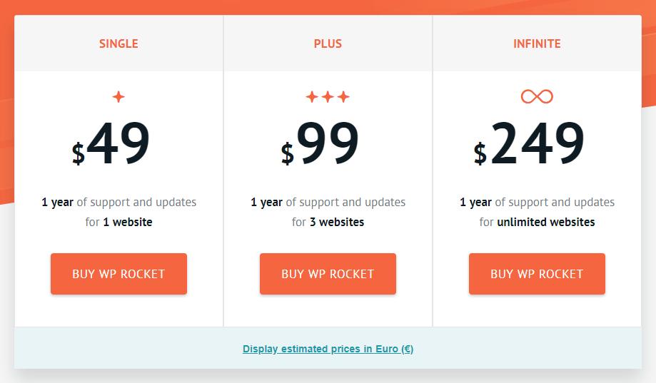 wp rocket coupon