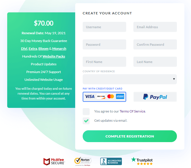 The Best Deal to sign up for Elegant Themes Membership
