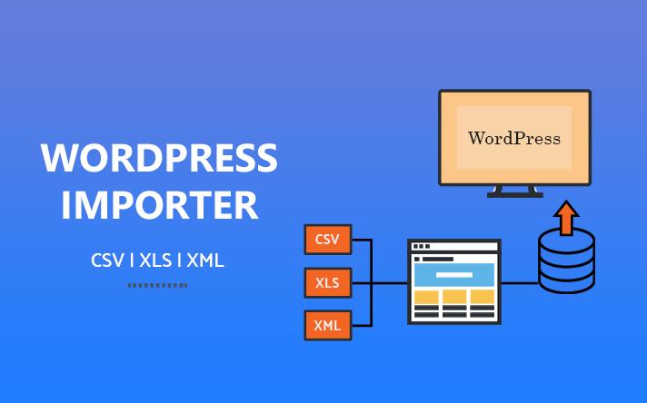 wordpress csv import tool